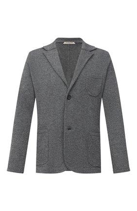 Мужской пиджак из шерсти и кашемира FIORONI серого цвета, арт. MKF21315G1   Фото 1