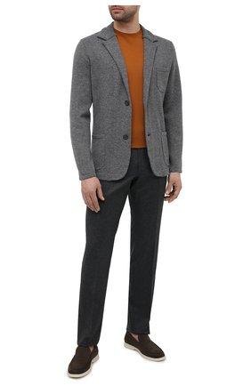 Мужской пиджак из шерсти и кашемира FIORONI серого цвета, арт. MKF21315G1   Фото 2