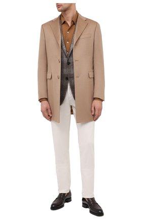 Мужской кашемировое пальто CORNELIANI бежевого цвета, арт. 861403-0812098/00 | Фото 2
