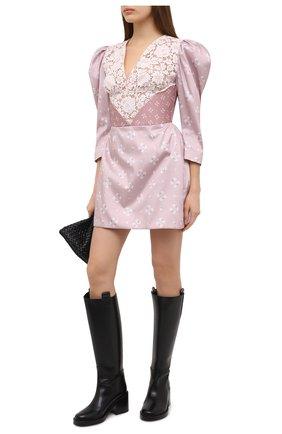 Женское платье ULYANA SERGEENKO розового цвета, арт. ABC007FW20P (1708т20) | Фото 2