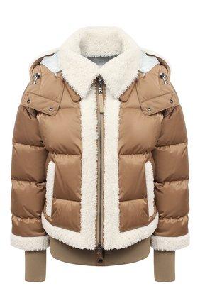 Женская куртка с меховой отделкой BOGNER бежевого цвета, арт. 31852788 | Фото 1
