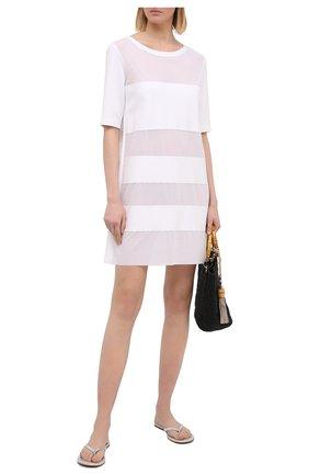 Женское туника SHAN белого цвета, арт. 4207-372 | Фото 2