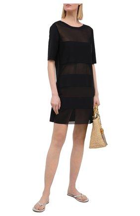 Женское туника SHAN черного цвета, арт. 4207-372 | Фото 2
