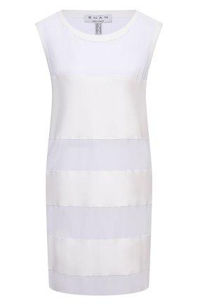 Женское туника SHAN белого цвета, арт. 4207-377 | Фото 1
