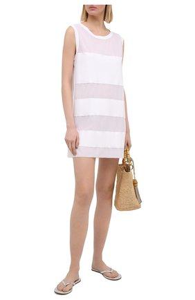 Женское туника SHAN белого цвета, арт. 4207-377 | Фото 2