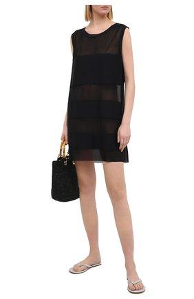 Женское туника SHAN черного цвета, арт. 4207-377 | Фото 2