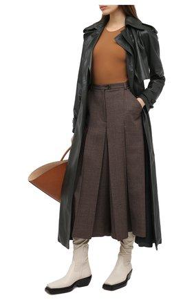 Женское боди MAISON MARGIELA коричневого цвета, арт. S51NA0065/S20518   Фото 2