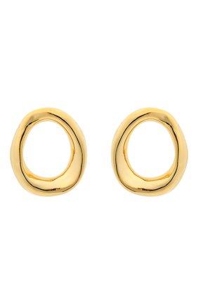 Женские серьги MARNI золотого цвета, арт. 0RMV0244A0/M2000 | Фото 1