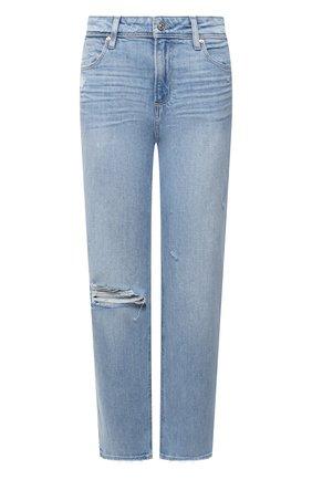 Женские джинсы PAIGE голубого цвета, арт. 6393635-2335 | Фото 1