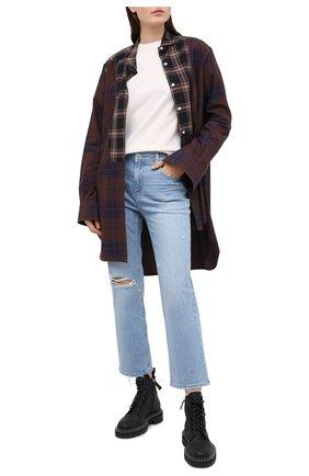 Женские джинсы PAIGE голубого цвета, арт. 6393635-2335 | Фото 2
