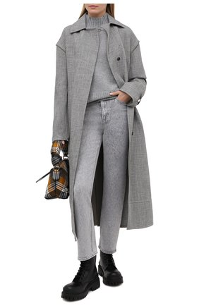 Женский кашемировый свитер FTC серого цвета, арт. 810-0250 | Фото 2