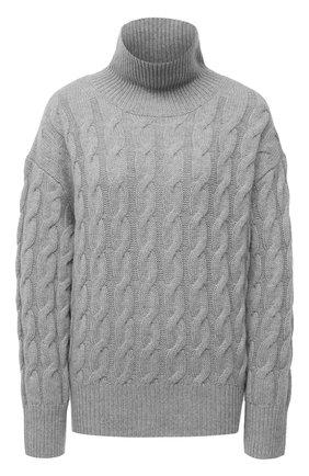 Женский кашемировый свитер FTC серого цвета, арт. 810-0300 | Фото 1