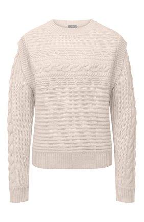Женский кашемировый свитер FTC бежевого цвета, арт. 810-0320   Фото 1