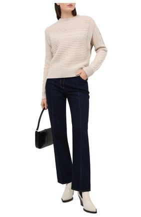 Женский кашемировый свитер FTC бежевого цвета, арт. 810-0320   Фото 2