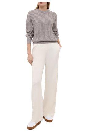 Женский кашемировый свитер FTC светло-коричневого цвета, арт. 810-0480   Фото 2