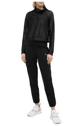 Женская пуловер KORAL черного цвета, арт. A4089C55 | Фото 2