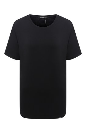 Женская футболка KORAL черного цвета, арт. A6379J75 | Фото 1