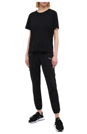 Женская футболка KORAL черного цвета, арт. A6379J75 | Фото 2