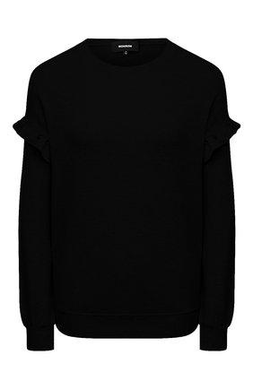 Женская свитшот MONROW черного цвета, арт. HT0984 | Фото 1