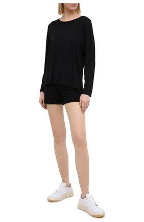 Женские шорты MONROW черного цвета, арт. HB500AFT | Фото 2