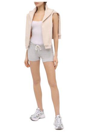 Женские шорты MONROW серого цвета, арт. HB500AFT | Фото 2