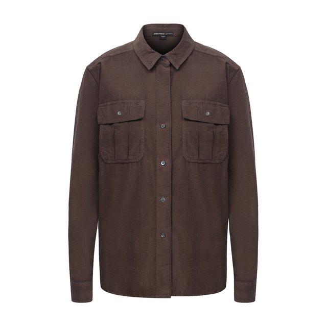 Хлопковая рубашка James Perse