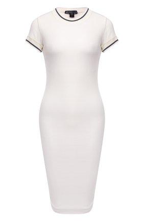 Женское хлопковое платье JAMES PERSE белого цвета, арт. WGCR6483 | Фото 1