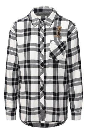 Женская рубашка general motorclothes HARLEY-DAVIDSON черно-белого цвета, арт. 99104-20VW | Фото 1