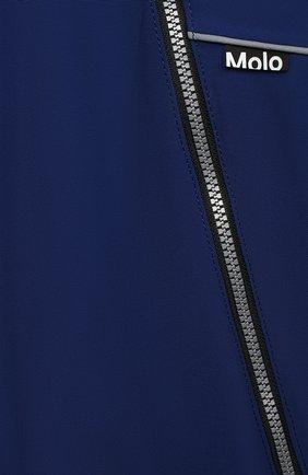 Детского комбинезон pyxis fur recycle MOLO темно-синего цвета, арт. 5W20N105 | Фото 3