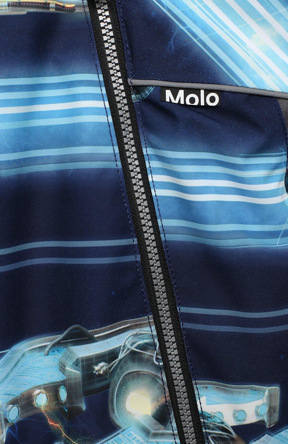 Детского комбинезон pyxis MOLO темно-синего цвета, арт. 5W20N101   Фото 3