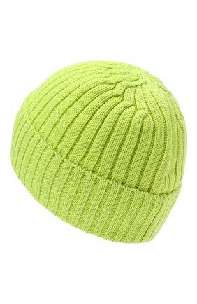 Детского шерстяная шапка BOGNER KIDS салатового цвета, арт. 95056125 | Фото 2