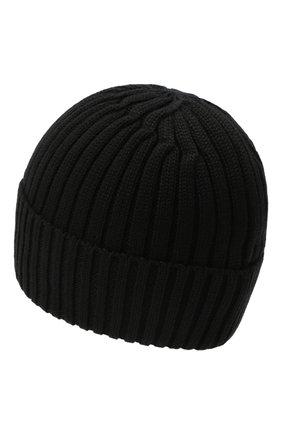 Детского шерстяная шапка BOGNER KIDS черного цвета, арт. 95056125 | Фото 2