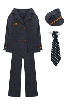 Детского игрушечный костюм пилота для папы джинджер MAILEG разноцветного цвета, арт. 17-6134-00 | Фото 1