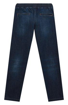 Детские джинсы DOLCE & GABBANA синего цвета, арт. L43P02/LD946/8-14   Фото 2