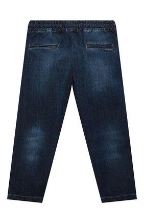 Детские джинсы DOLCE & GABBANA синего цвета, арт. L43P02/LD946/2-6 | Фото 2
