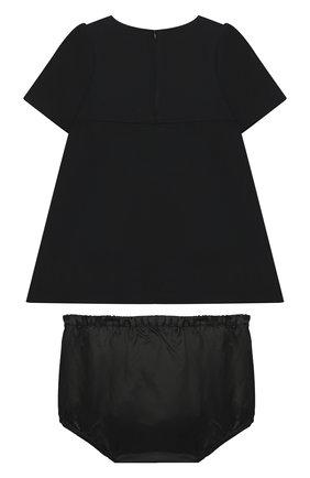 Женский комплект из платья и шорт DOLCE & GABBANA черного цвета, арт. L22DR3/G7XVP | Фото 2