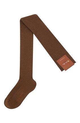 Женские колготки LORO PIANA коричневого цвета, арт. FAC5023 | Фото 1