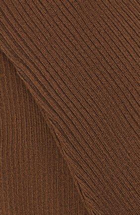Женские колготки LORO PIANA коричневого цвета, арт. FAC5023 | Фото 2