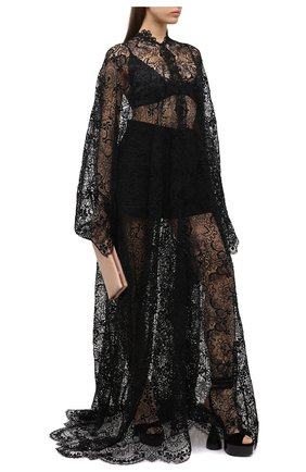 Женское шелковая туника TOM FORD черного цвета, арт. KF0002-FAX773 | Фото 2