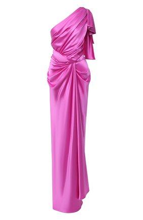 Женское шелковое платье DOLCE & GABBANA фуксия цвета, арт. F6K2MT/FU1NG | Фото 1