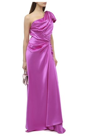 Женское шелковое платье DOLCE & GABBANA фуксия цвета, арт. F6K2MT/FU1NG | Фото 2