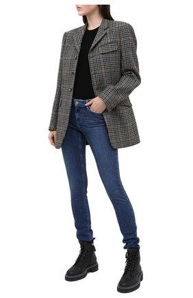 Женские джинсы PAIGE синего цвета, арт. 2279984-2294 | Фото 2