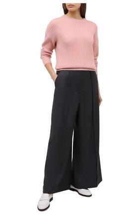 Женский кашемировый свитер FTC розового цвета, арт. 810-0480 | Фото 2