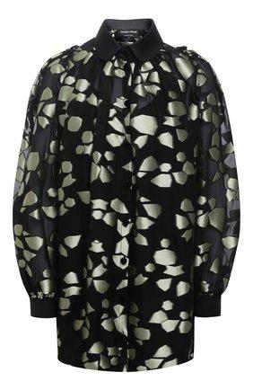 Женская блузка GIORGIO ARMANI светло-зеленого цвета, арт. 0WHCC01D/T026Q | Фото 1