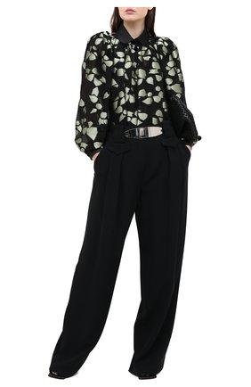 Женская блузка GIORGIO ARMANI светло-зеленого цвета, арт. 0WHCC01D/T026Q | Фото 2