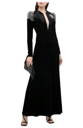 Женское платье GIORGIO ARMANI черного цвета, арт. 6HAA59/AJKAZ | Фото 2