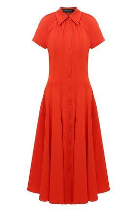 Женское платье BRANDON MAXWELL оранжевого цвета, арт. DR251PF20 | Фото 1