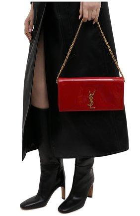 Женский клатч kate SAINT LAURENT красного цвета, арт. 634211/0UF0M | Фото 2