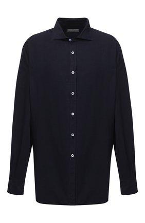 Мужская рубашка CANALI темно-синего цвета, арт. L7B1/GL01997 | Фото 1