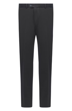 Мужские хлопковые брюки HILTL темно-серого цвета, арт. 72481/60-70 | Фото 1